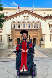 alexa graduates from law school