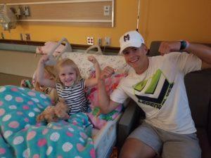elliott visits mckinley in hospital