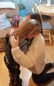 tarli cries happy tears