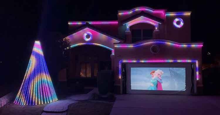 disney holiday lights