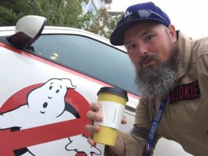 dave's ghostbusters car