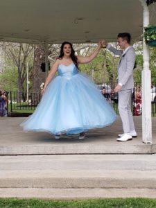 addi's prom dress