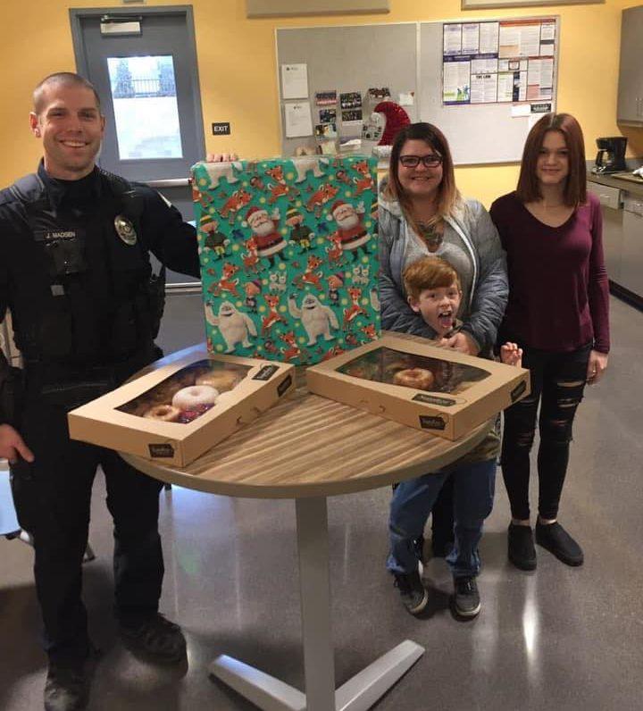 officer madsen and berg family