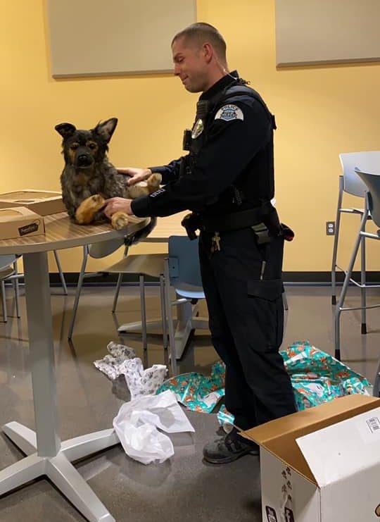 officer madsen's gift