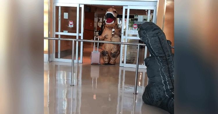 dinosaur reunion