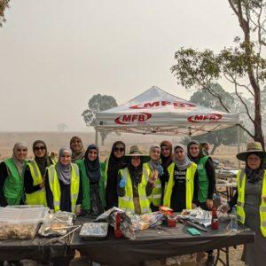 australian islamic society volunteers