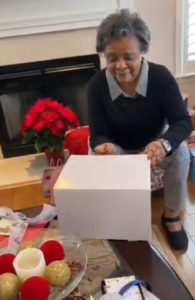 grandma surprise gift