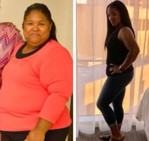 brandee before after weight loss