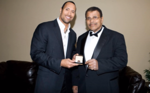 dwayne and rocky wwe hall of fame