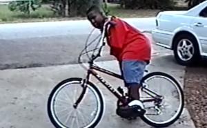 richie rides bike