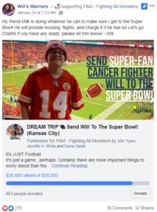 fundraiser for will