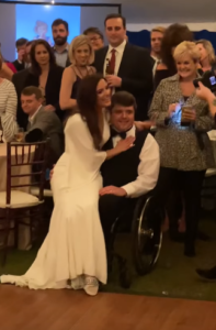 chance and molly's wedding