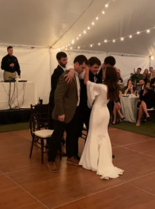 chance and molly's first dance