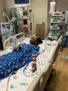 nyla in hospital