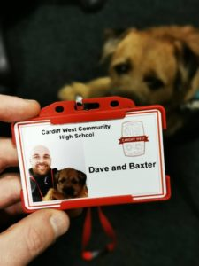 dave and baxter's school id