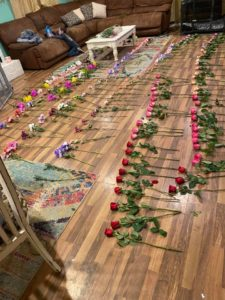jayme's valentine's flowers