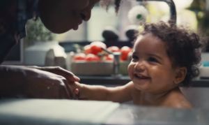 pampers share the love ad