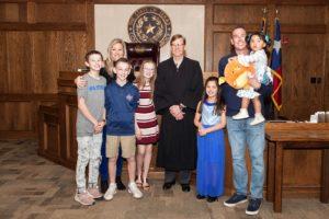 scott family adoption day