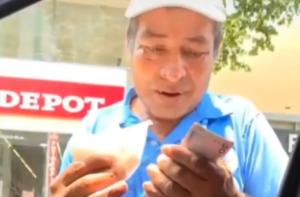 couple gives street vendor $100