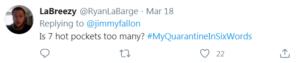 quarantine tweet