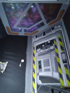 spaceship bedroom