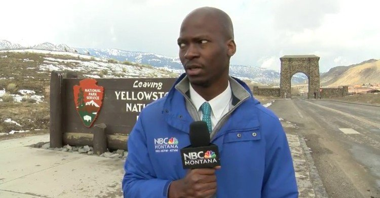 NBC news anchor Deion Broxton