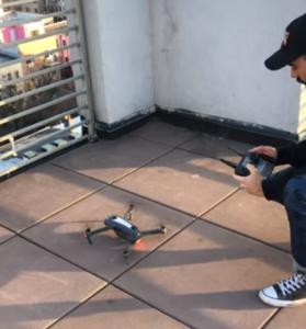 jeremy flies drone