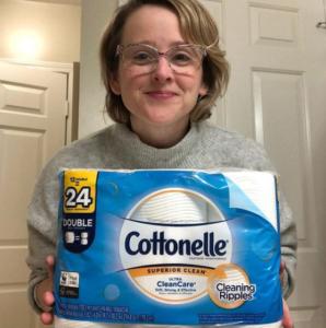 cottonelle share a square