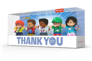 mattel thank you heroes collection