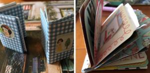 mini book bindings