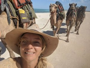 sophie and her camels