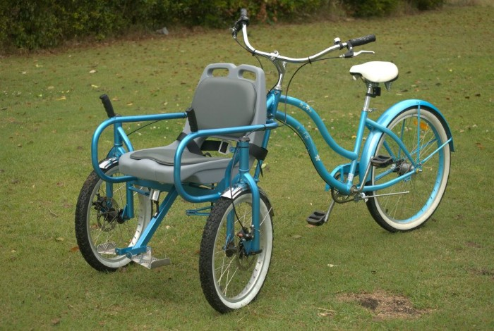 Man Builds Custom Bike So He Can Keep Taking Wife With Alzheimer's On Rides.