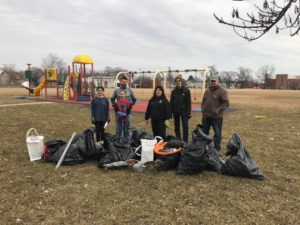 playground cleanup