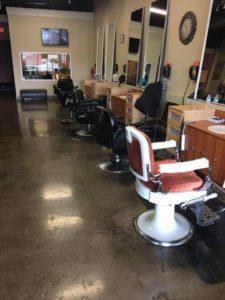 empty salon