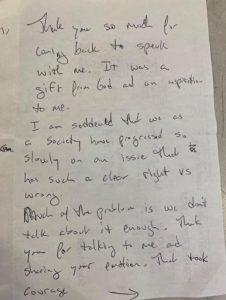doug's note