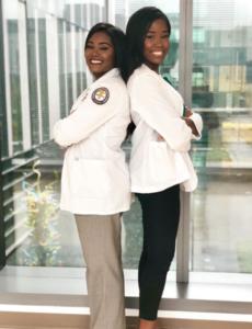 Dr. Cynthia Kudji and Dr. Jasmine Kudji