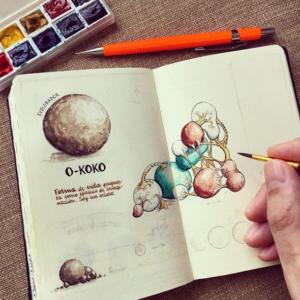 jose naranja drawings