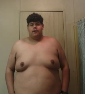 adan before weight loss