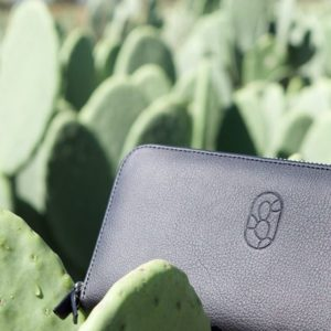 cactus leather wallet