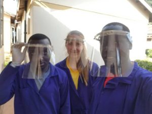 recycled face shields