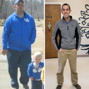jacob before after weight loss