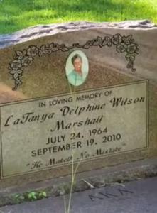 latanya's headstone