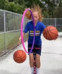 karolina basketball stunt