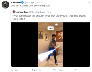 josh gad tweet