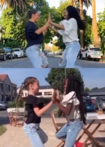 girls' dance recreation