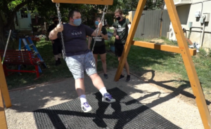 dylan tries out swing
