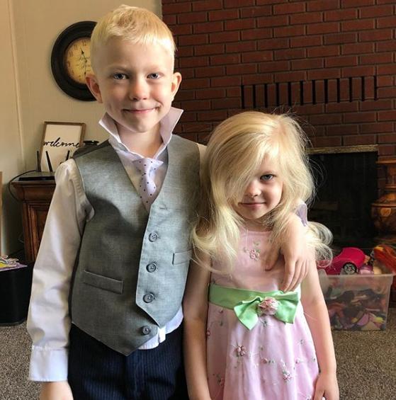 bridger and his sister
