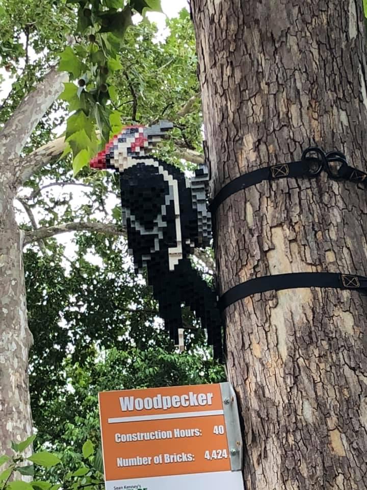 lego woodpecker