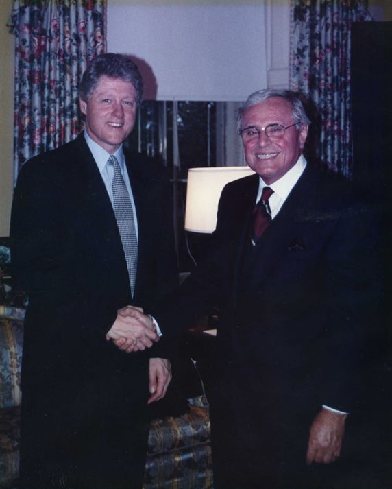 clinton and martin