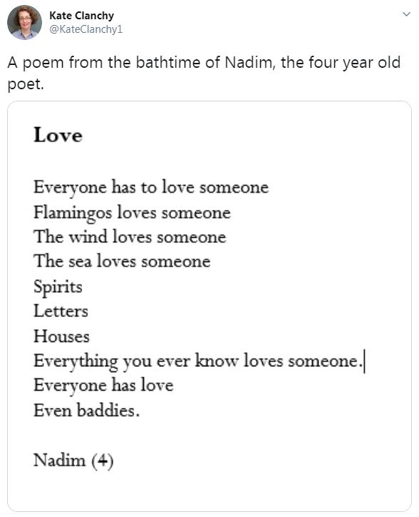 nadim poetry tweet